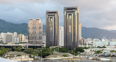 Skyline of Honolulu