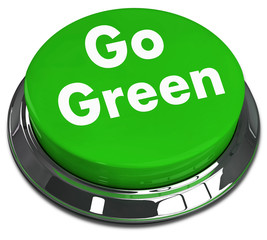 Recycling And Eco Concept - Go Green