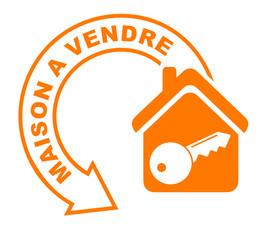 maison à vendre flèche orange