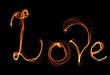 love fire illustration