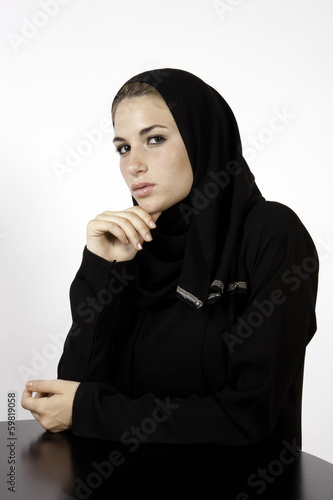 An Arab Woman With A Career Plan