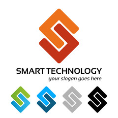 Smart technology logo work