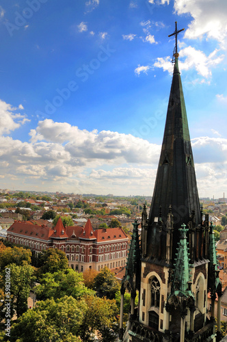 Church of St. Olha and Elizabeth in Lviv City (Ukraine)