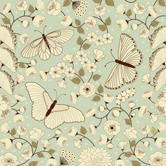 Background floral pattern