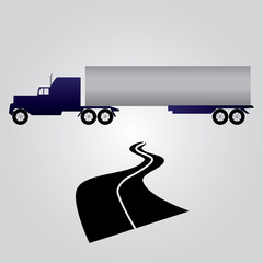 truck and cargo eps10