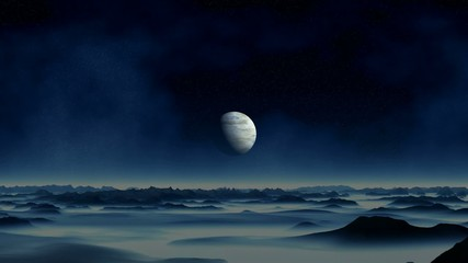 Approaching the gas giant