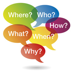 Speechbubbles Questions