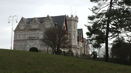 Magdalena Palace in Santander