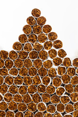 cigarettes heap