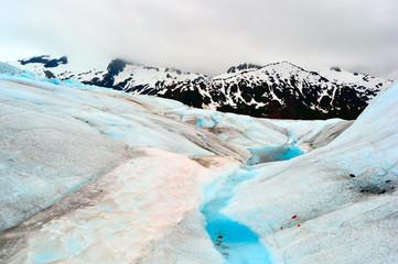 Glacial surface