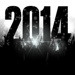 publikum vor buehne blendendes licht 2014 I