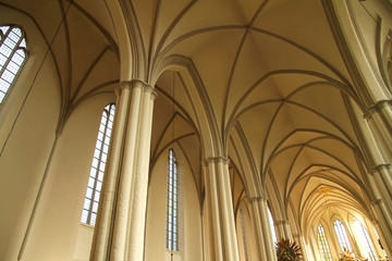 Interior of the Marienkirche in Berlin, Germany.