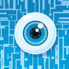 Computer eyeball