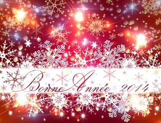 Bonne Année 2014 (red)