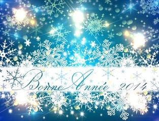 Bonne Année 2014 (blue)
