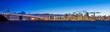 Leinwanddruck Bild - Bay Bridge and San Francisco