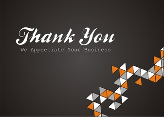 thank you - we appreciate your business