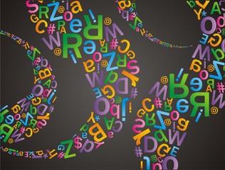 alfabet pattern