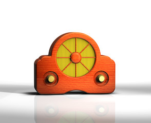 Radio Retro Holz 2