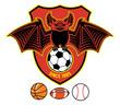 vampire bat as a sport mascot