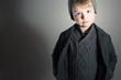 Little Boy.Handsome Kid. Fashion Children. Winter Style