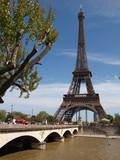 Fototapeta Eiffel Tower - Wieża Eiffla © lukaszskop