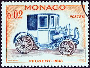 Peugeot car of 1898 (Monaco 1961)