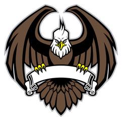 eagle grip the blank ribbon