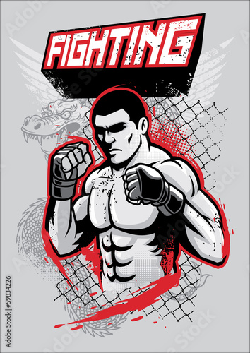 MMA fighter design