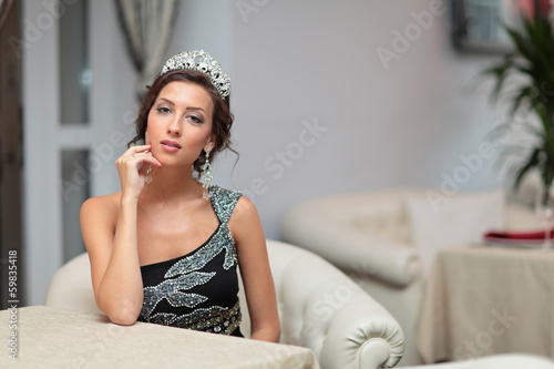 Girl with diadem