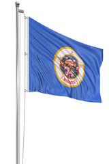 3D Minnesota Flag