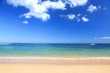 Australian Beach in summer