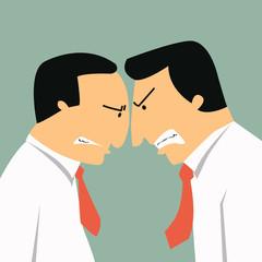 Business confrontation