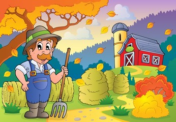Autumn farm theme 3