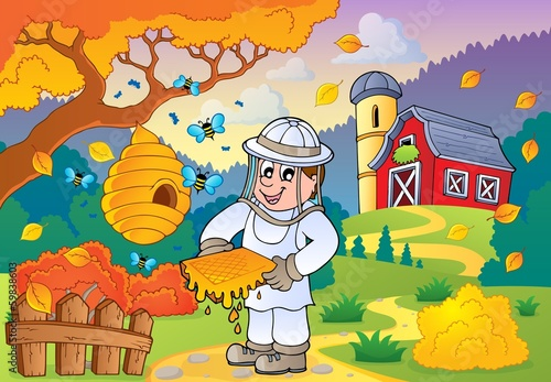 Autumn farm theme 1