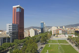 Panoramic of Barcelona