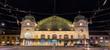 Leinwanddruck Bild - Basel SBB railway station in Switzerland