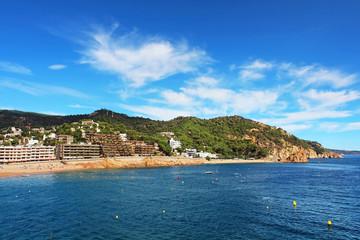 Village Tossa de Mar. Costa Brava, Spain.