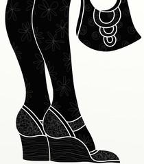 scarpe e borsa