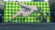 Big graffiti mural in Shoreditch, London