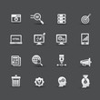 Web media, Seo icons,vector