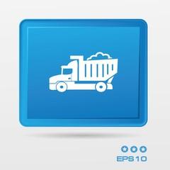 Truck symbol,vector