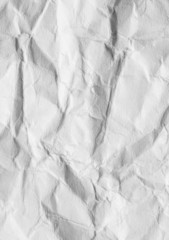abstract background of crumpled white paper