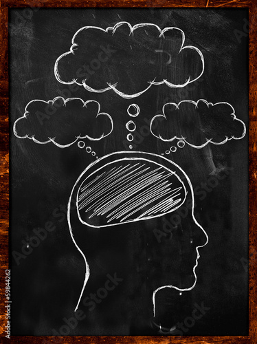 People's Minds blackboard