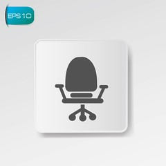 Chair symbol,vector