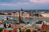 Budapest cityscape and Danube River, Hungary