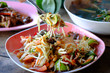 Papaya Salad ,Somtum Thai Food