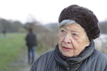 Depressed Senior Woman 5