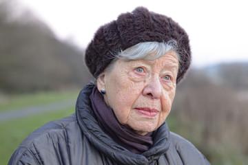 Depressed Senior Woman 8