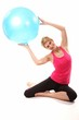 Gymnastik mit Ball